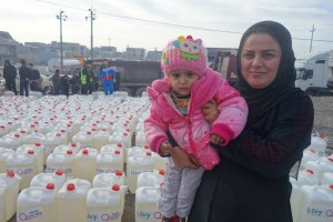Syrian Family Received Kerosene