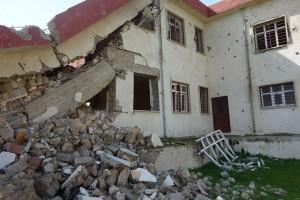 イラク・ニナワ県にある壊れた校舎を補修します!2