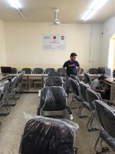 イラク教育支援・エルビルの実業高校PC⑥