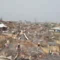 Fire affected Rohingya camp 8W